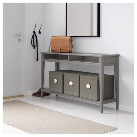 Liatorp Console Table Grey Glass 133x37 Cm Ikea Sofa Table Ikea
