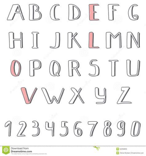 cute alphabet pattern drawn graffiti cute pencil and in color drawn graffiti cute