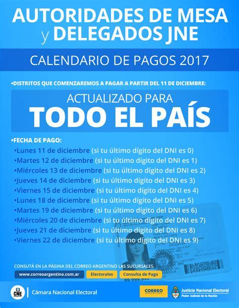 calendario de pagos auh mes de abril 2017 cronograma asignacion universal mes de abril 2017