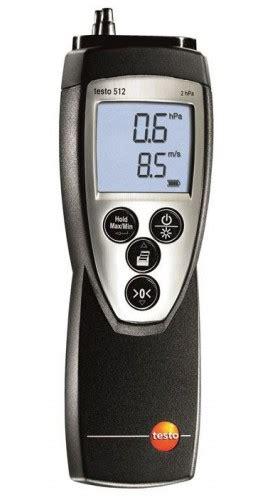 testo no stress testo 512 manometer anemometer 0 20 hpa testo instruments