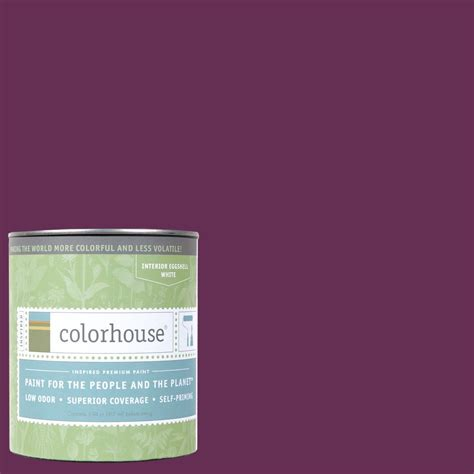 colorhouse paint colorhouse 1 qt petal 07 eggshell interior paint 662571