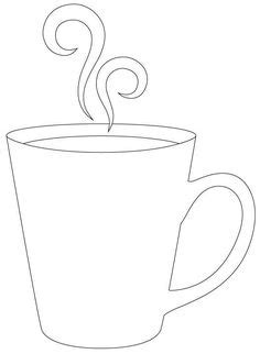 printable stencils for mugs beer mug pattern use the printable outline for crafts