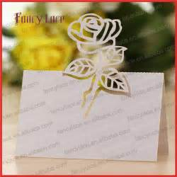 50pcs laser cutting wedding invitation decorations name place card table cards