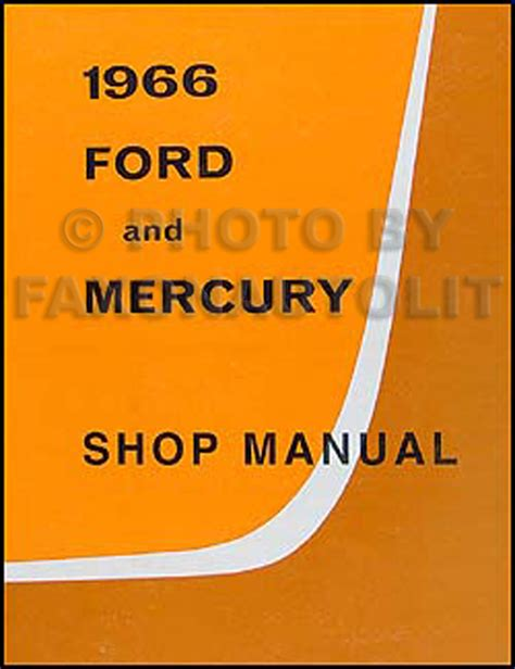 1966 ford small car service manual search
