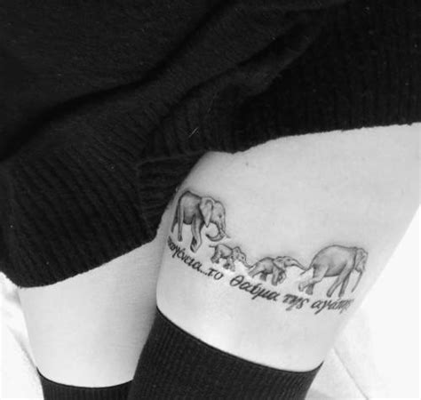 family elephant tattoo meaning tattoo of elephant tumblr