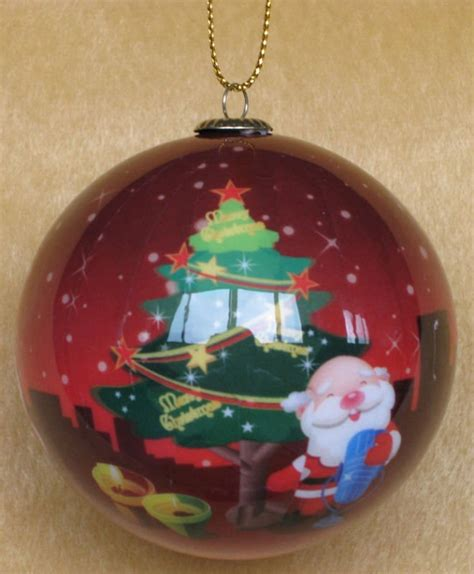 classic hand painted inside glass ornaments chirstmas