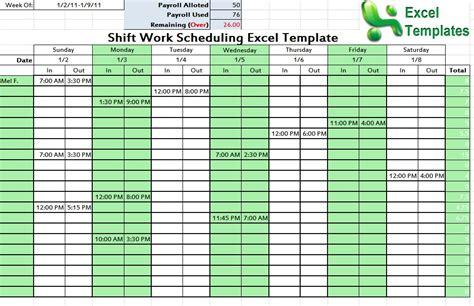 schedule maker excel monthly work schedule template monthly work