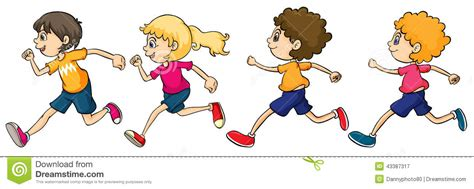 running clipart child clipart running race pencil and in color child