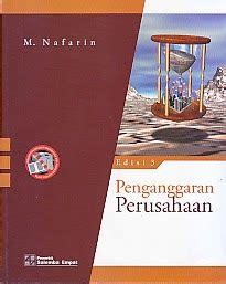 Buku Penganggaran Perusahaan Nafarin Eds 3 Salemba Empat toko buku rahma penganggaran perusahaan