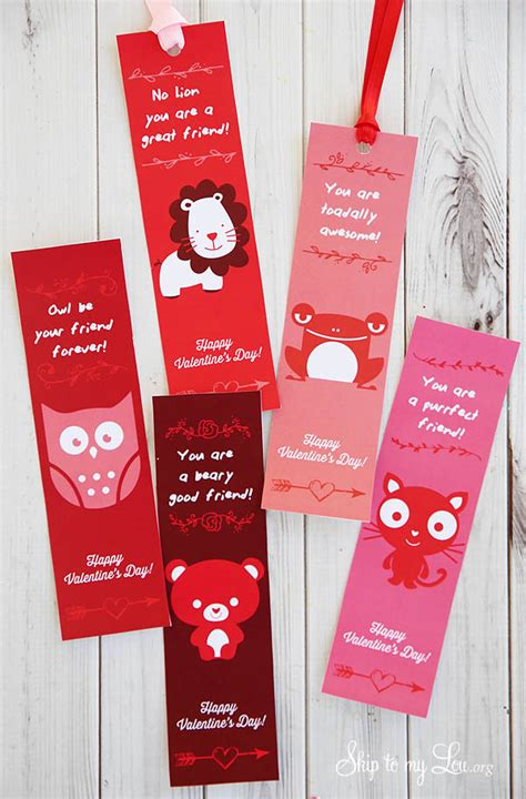 printable bookmarks valentine s day valentine printable bookmarks skip to my lou