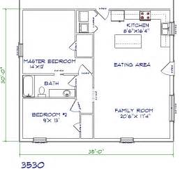 gallery for gt 2 bedroom barndominium floor plans