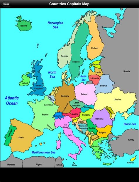 european countries and capitals search engine at