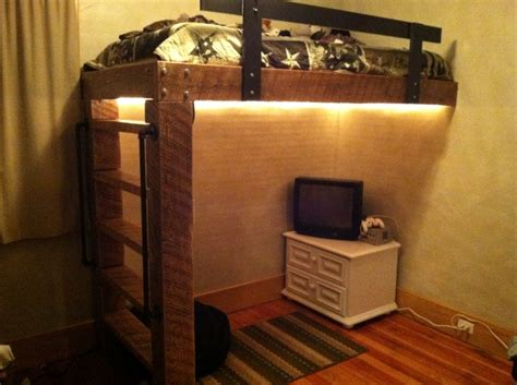 rustic loft bed rustic loft beds handcrafted by jason cowgirl room