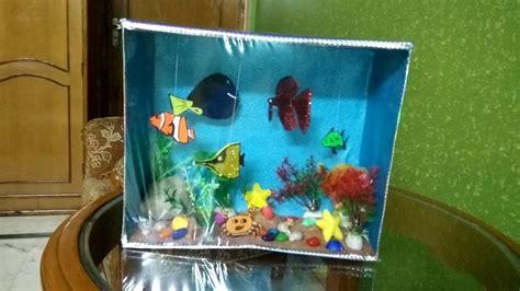 Origami Aquarium - origami aquarium images craft decoration ideas