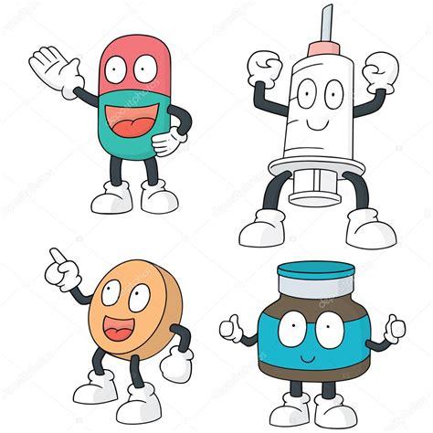 imagenes motivacionales medicina conjunto de vectores de dibujos animados de medicina