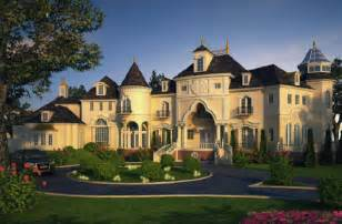 Castle luxury house plans manors chateaux and palaces in european