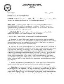 army exception to policy example pictures to pin on