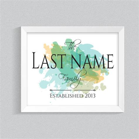 Printable Wall Art Names | home name printable quote wall art from yougrew printables