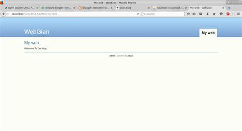 tutorial menggunakan xibo install pluck cms di linux gian blog