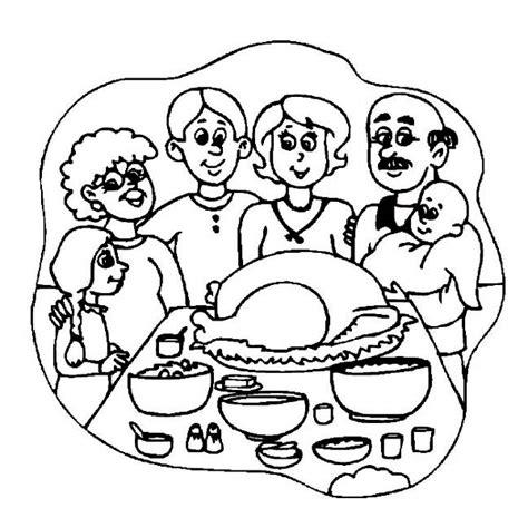 family meal coloring page 90 dessins de coloriage repas 224 imprimer sur laguerche com