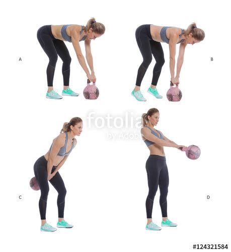 kettlebell russian swing quot russian kettlebell swing quot stock photo and royalty free