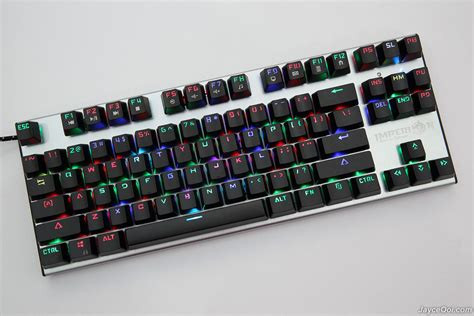 Keyboard Imperion Imperion Mech 7 Rgb Mechanical Gaming Keyboard Review