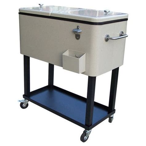Patio Carts With Wheels by Oakland Patio Cooler Cart Register For Me