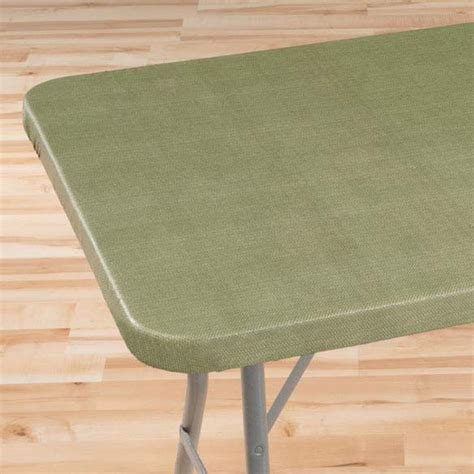elastic table cover classic weave elasticized banquet table cover kimball