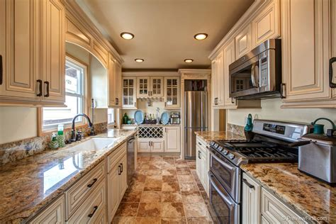 antique white kitchen cabinets with granite countertops fully custom remodeled kitchen granite counter tops