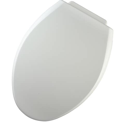 easy clean toilet seat lowes shop church xcite white wood elongated toilet seat at