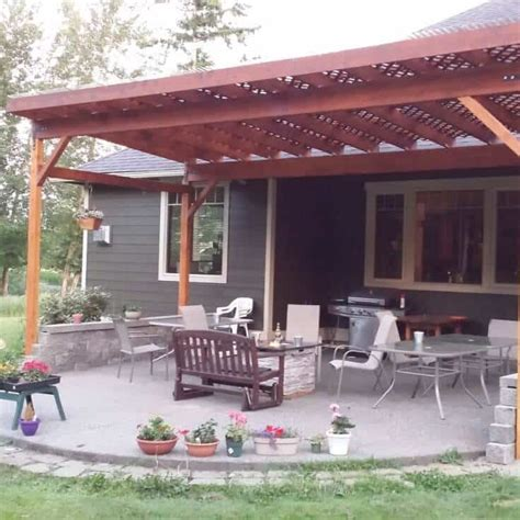 building a covered porch how to build a diy covered patio