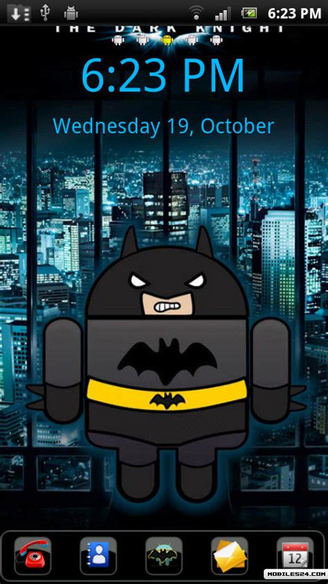 java launcher themes go launcher ex batdroid theme free android theme download