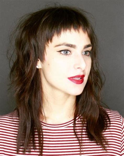 pictures of modern hair styles long hair with spike top for women 26 hottest long shag haircut ideas that are trending for 2018