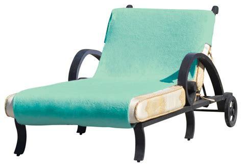 lounge chair covers with pockets linum home standard size chaise lounge cover