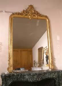 a b j cheminees 625 miroir louis xv