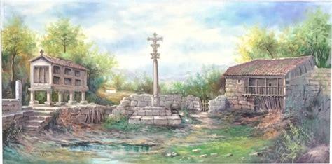 imagenes de paisajes gallegos cuadro paisaje gallego 04 022 www olyarte com