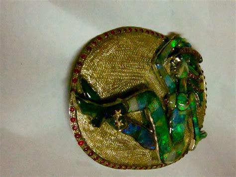 Australian Handmade Jewelry - graham australian handmade opal necklace