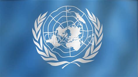United Nations Nation 20 by United Nations Waving Flag Detail Royalty Free