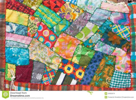 Patchwork Photo Quilt - patchwork quilt stock photo image of handcrafted