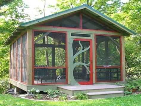 outdoor screen room design your own room freestanding screened pergola