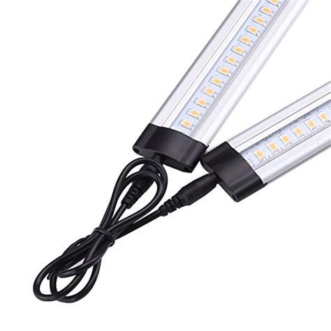 led under cabinet lighting kit le 174 dimmable led under cabinet lighting 6 panel kit 24w