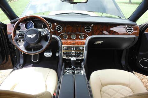 bentley sedan interior 2013 bentley mulsanne sedan 186998