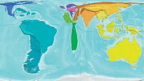 real world map the atlas of the real world new scientist
