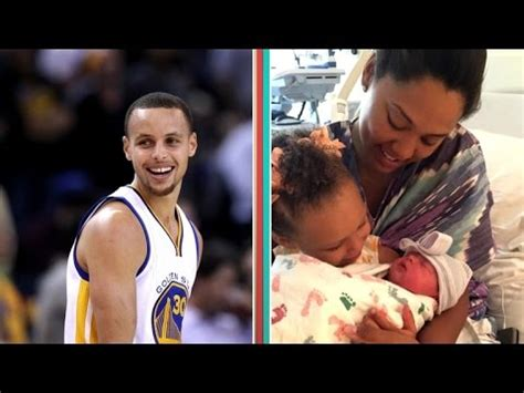 stephen curry new baby stephen curry shares first photo of his new baby girl