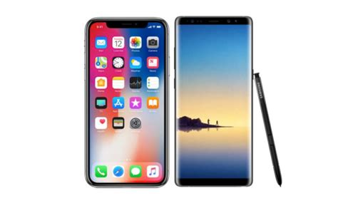iPhone X vs Galaxy Note 8 spec comparison