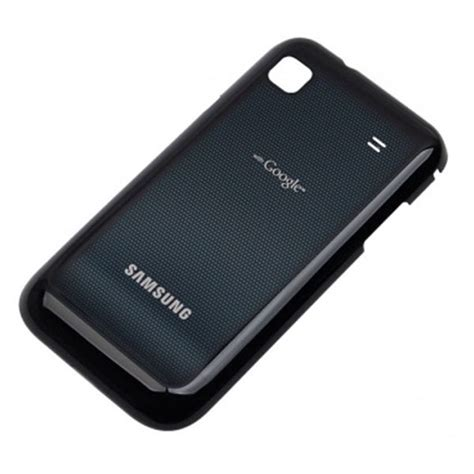 Back Cover Samsung I 9000 Original samsung i9000 galaxy s battery cover metallic black