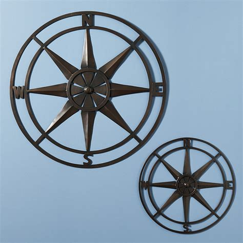 Free Shipping Ballard Designs compass rose indoor outdoor plaque ballard designs