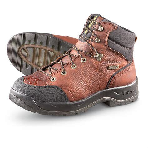 lacrosse quad comfort boots men s lacrosse 174 6 quot waterproof quad comfort 174 ii work boots