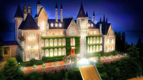the great gatsby mansion the sims 4 great gatsby s mansion l speed build youtube