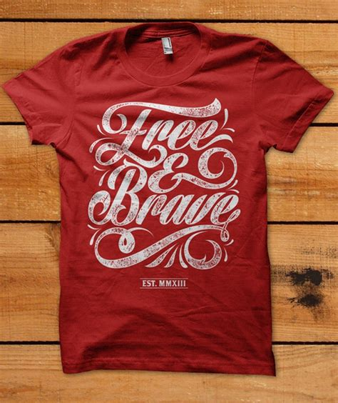Cool T Shirt Designs Typography Fonts And Eye